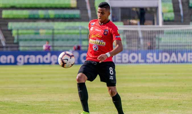 Celis es el referente ofensivo / Foto: Caracas FC