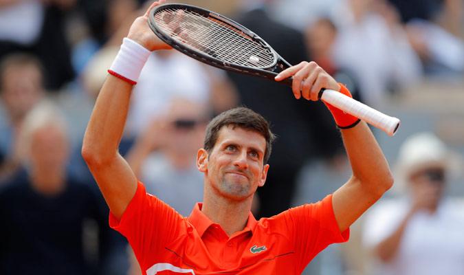 Djokovic encadena ya 26 victorias en Grand Slam/ Foto AP