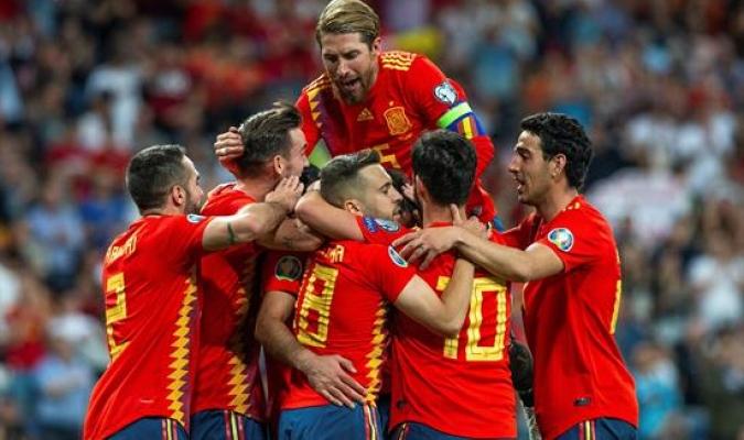 España trituró a Suecia de la mano de Ramos | Foto: EFE