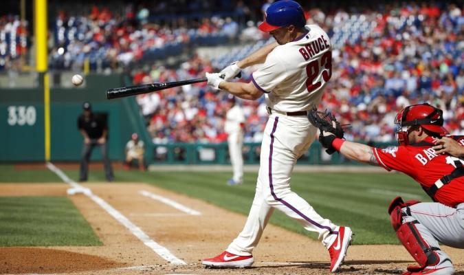 Bruce destacó en la Liga Nacional en el último periodo de 7 dias | Foto: AP