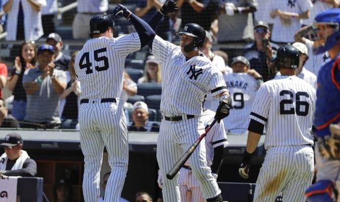 Los Yankees dominaron el primer duelo de doble cartelera // Foto: AP