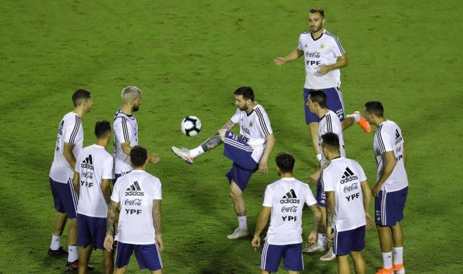 Argentina no se ve favorita en la Copa América // Foto: AP