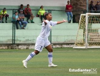 Rodríguez debutó contra Estudiantes de Mérida firmando asistencia | Foto: @EstudiantesCSC