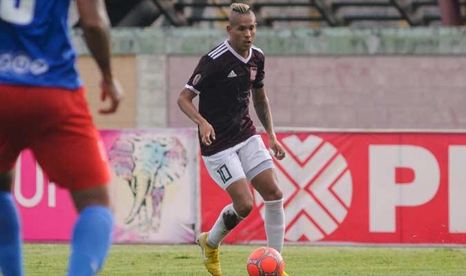 El delantero jugó 1890 minutos en el Apertura    Foto: Carabobo FC