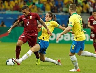 Venezuela sacó el primer punto ante una anfitriona de Copa América | Foto: EFE