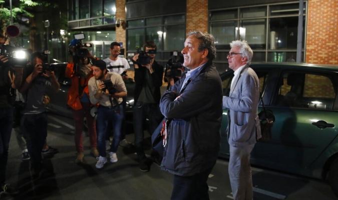 Platini describió dolorosa la situación por la que está pasando // Foto: AP