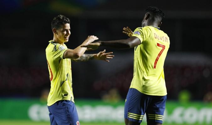 Colombia clasificó a cuartos/ Foto: Cortesía