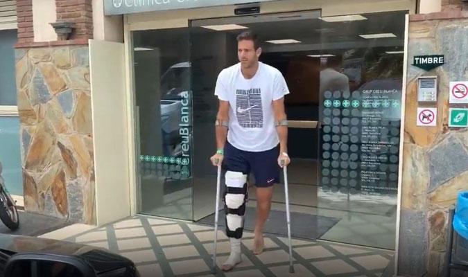 El argentino se lesionó jugando en Queen's/ Foto Cortesía