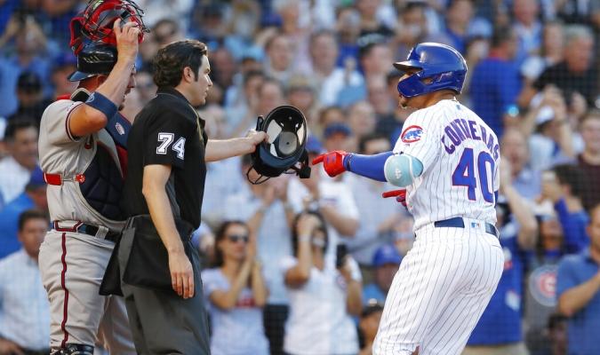 Contreras y Flowers vaciaron las bancas | Foto: AP
