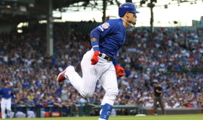 Contreras sigue enchufado con el madero | Foto: @Cubs
