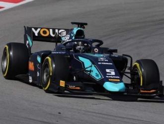 El piloto pudo levantar el trofeo en Austria / Foto: Cortesía
