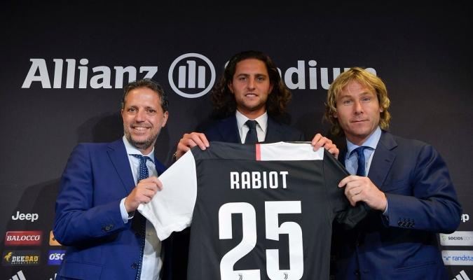 Rabiot fue presentado en la Juventus / Foto: Cortesía (@juventusfc)