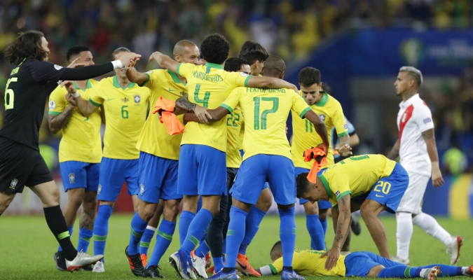 Brasil ganó todas las copas que organizó / Foto: AP