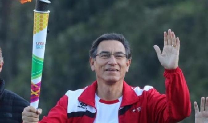 El mandatario de Perú manifestó su agradecimiento a la selección // Foto: Cortesía