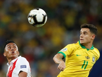 Coutinho reconoció el trabajo de su equipo // Foto: Cortesía