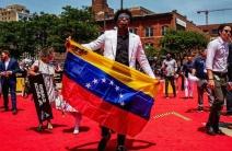 Los venezolanos lucen impecables en la alfombra roja del All Star Game