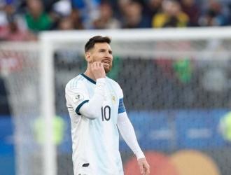 Messi se no terminó con las manos vacías en la Copa América 2019 // Foto: Cortesía
