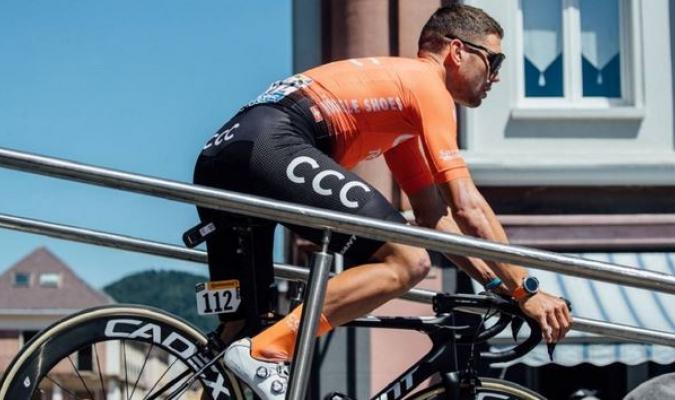 Bevin abandona el Tour de Francia // Foto: AP