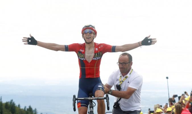 El belga consiguió la victoria en la sexta etapa // Foto: AP