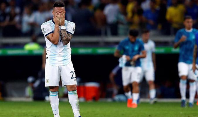 Lautaro jugó la Copa América de Brasil / Foto: EFE