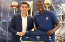 Boca Juniors le dio la bienvenida a Jan Hurtado
