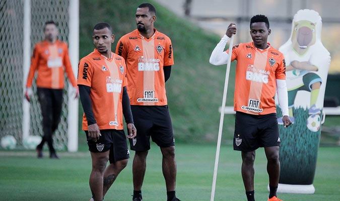 El venezolano ha entrenado fuertemente en el club / Foto: Atlético Mineiro