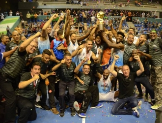 El ministro del deporte dio algunos avances sobre el baloncesto criollo | Foto: Prensa Trotamundos