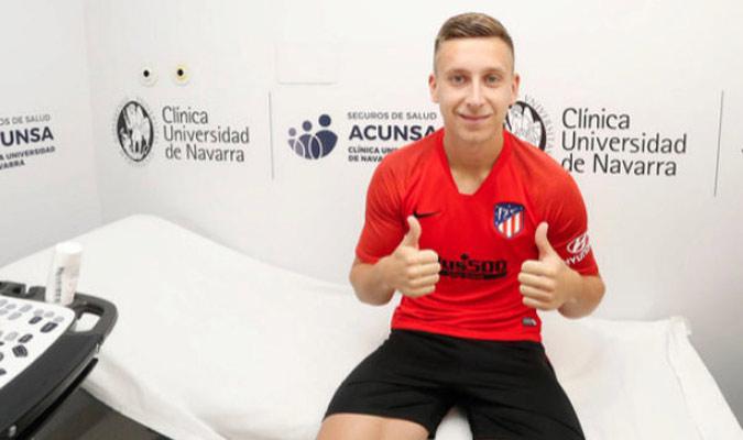 Saponjic llegó procedente del Benfica/ Foto Cortesía