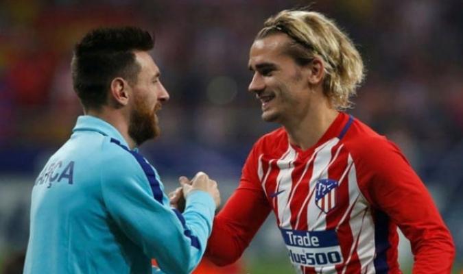 Griezmann compartirá vestuario con Messi/ Foto: Cortesía