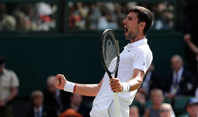 Djokovic dijo que era un
