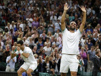 Cabalk y Farah se coronaron en el dobles masculino | Foto: AP