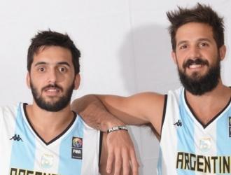 Facundo Campazzo y Nicolás Laprovíttola juegan juntos con la selección de Argentina / Foto Cortes