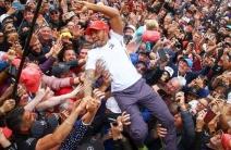 ¡El Rey! Lewis Hamilton volvió a coronarse en Silverstone