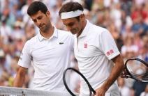 ¡Batalla histórica! Las mejores postales del duelo entre Djokovic y Federer