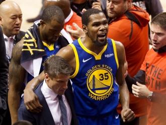 Myers agradeció todo el trabajo que hizo Durant por los Warriors // Foto: Cortesía