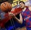 Abrines manifestó su alegría de volver a disfrutar del baloncesto // Foto: Cortesía