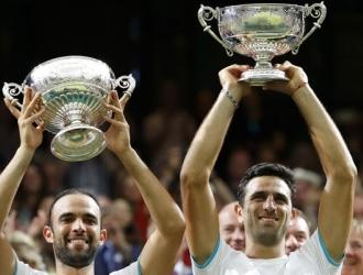 Los colombianos son la primera pareja de latinoamericanos en ganar la final de Wimbledon / Foto AP