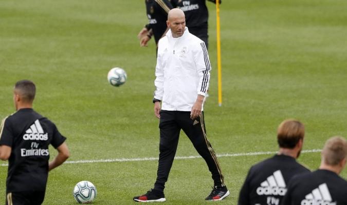 Zidane se reincorporó a la pretemporada merengue / Foto: Cortesía