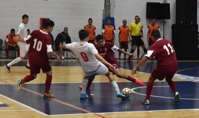 Los criollos se colaron en los 4tos de final de la Libertadores de Futsal | Foto: Prensa Libertadore