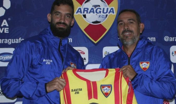 Fernández llega procedente del DANZ | Foto: Prensa Aragua FC