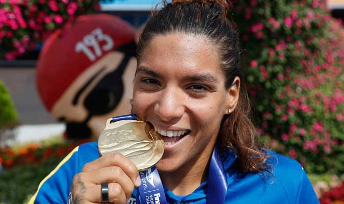 La brasileña acumula 11 medallas en mundiales l Foto: Cortesía