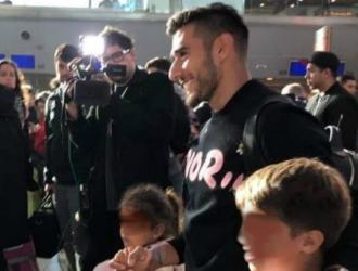 Salvio ya está en Argentina / Foto: Cortesía