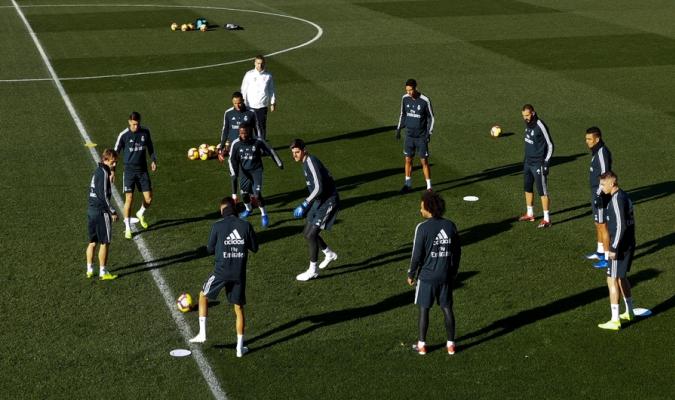 El Madrid se alista para las próximas competiciones  // // Foto: Cortesía