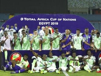 Nigeria logró dominar a Túnez para hacerse con el tercer lugar // Foto: AP