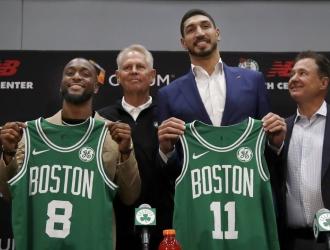 Walker y Kanter formarán parte de Boston | Foto: AP