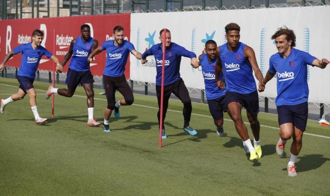 Barça se prepara para la gira en Japón / Foto: Cortesía