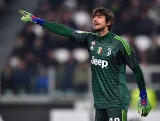 Perin ha disputado pocos minutos en la Juventus / Foto: Cortesía