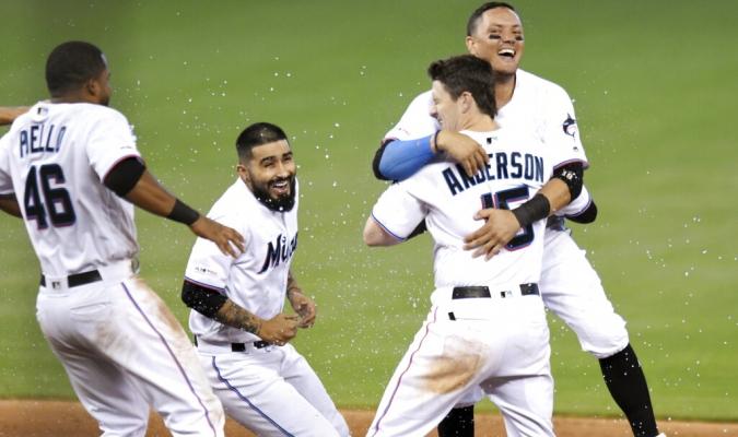 Anderson tuvo la última palabra en el partido // Foto: AP