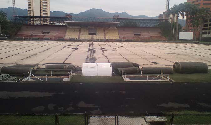 El recinto estaba en remodelación / Foto: Cortesía