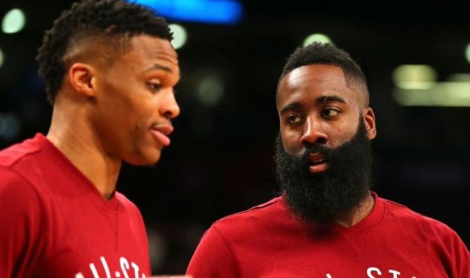 Harden habló sobre la dupla que hará en la cancha con Westbrook / Foto: Cortesía